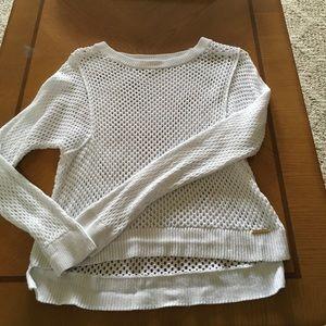 Michael Kors Fishnet Sweater size Medium